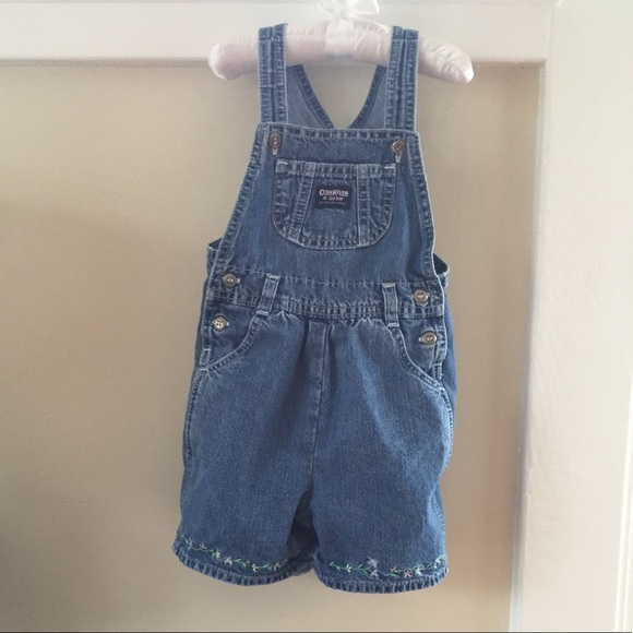 OshKosh B'gosh Other - OshKosh Toddler Girl Shortall Overall Shorts